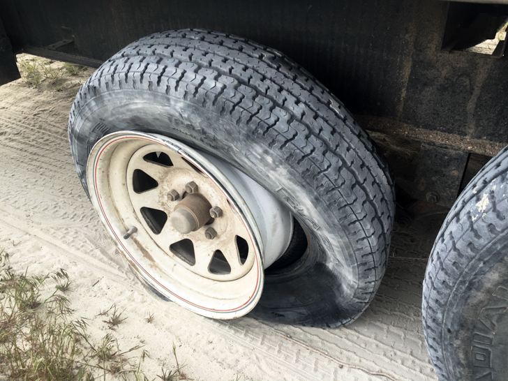 How To Change Flat Tire On Travel Trailers