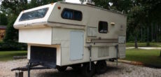 Deer Hunting Trailer Made From Old Jayco Truck Camper