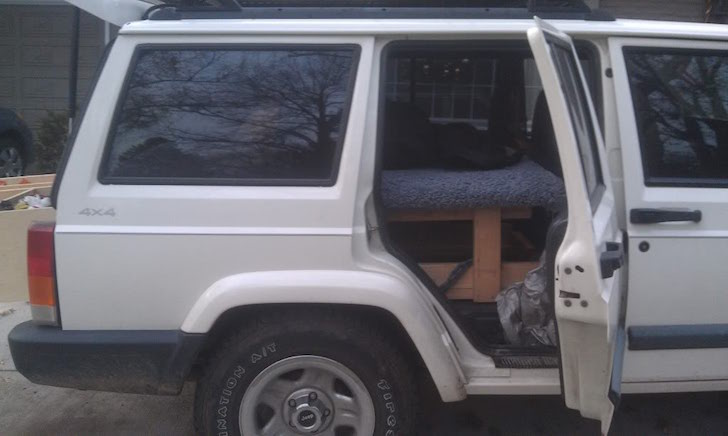 Jeep Cherokee rear door
