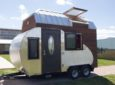 Frankenstein-Like Teardrop Trailer Fused With Tiny House