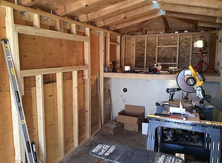frame under construction