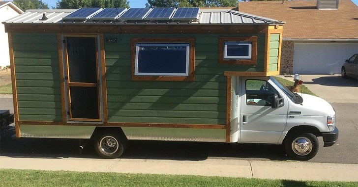 A Carpenter Built This House Truck RV With Some Great Features