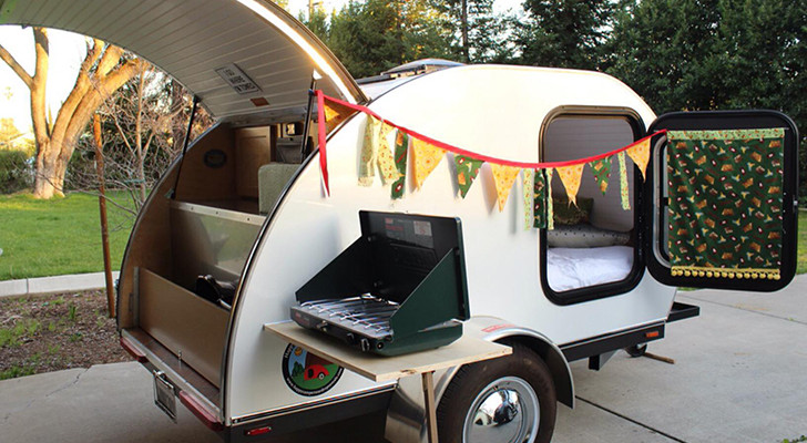 Renting A Teardrop Trailer? It's Getting Quite Popular