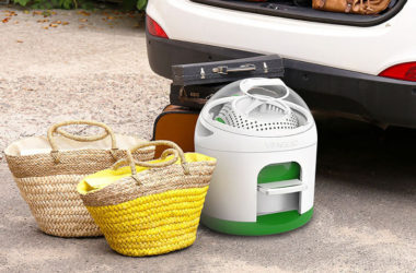 Compact Foot-Powered Washing Machine Boon To Campers