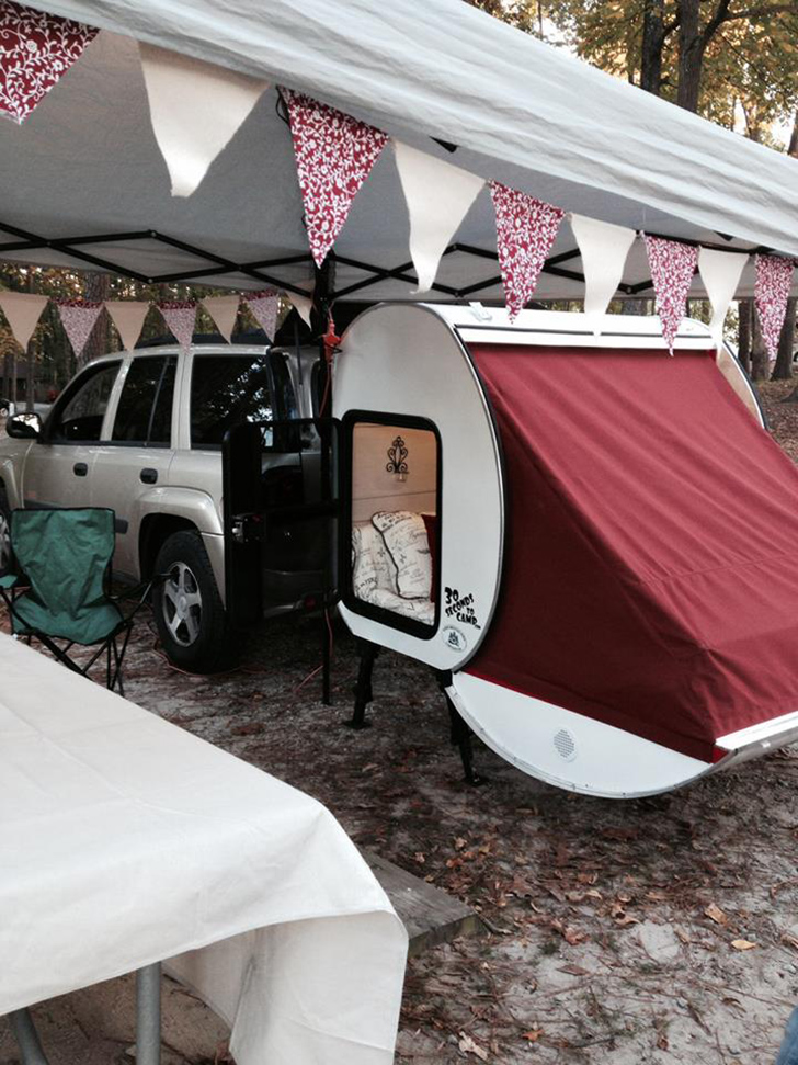 Camping Pod Trailer With No Wheels And Does Not Require Towing