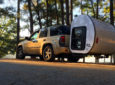 No Wheels Needed: Expandable Camping Pod Attaches To Your Hitch