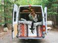 Couple Turns Old-Age Home Sprinter Van Into Dirtbag Dwelling
