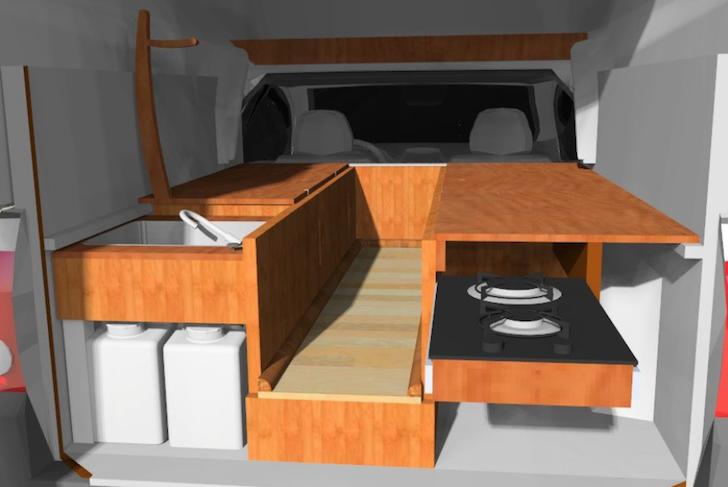 Drawer storage model
