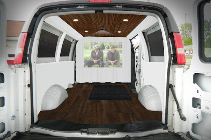 Well Driven 2003 Chevy Cargo Van Converted To Elegant Living