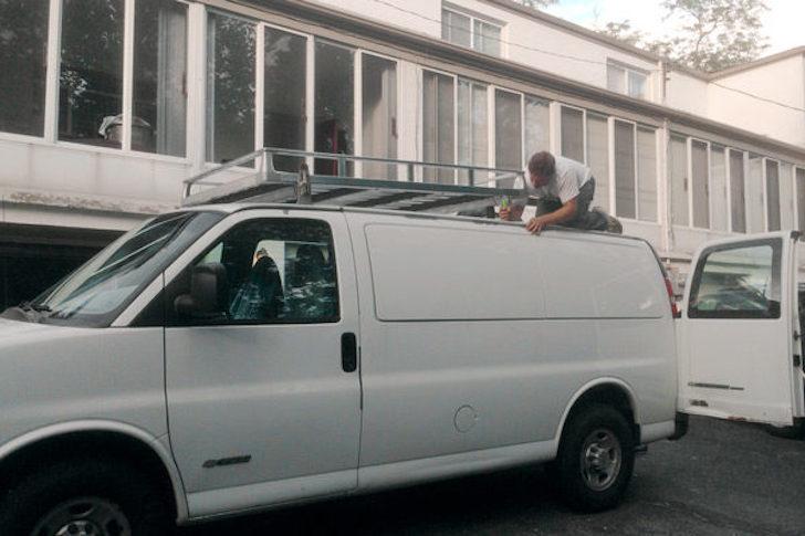 Hummer roof rack
