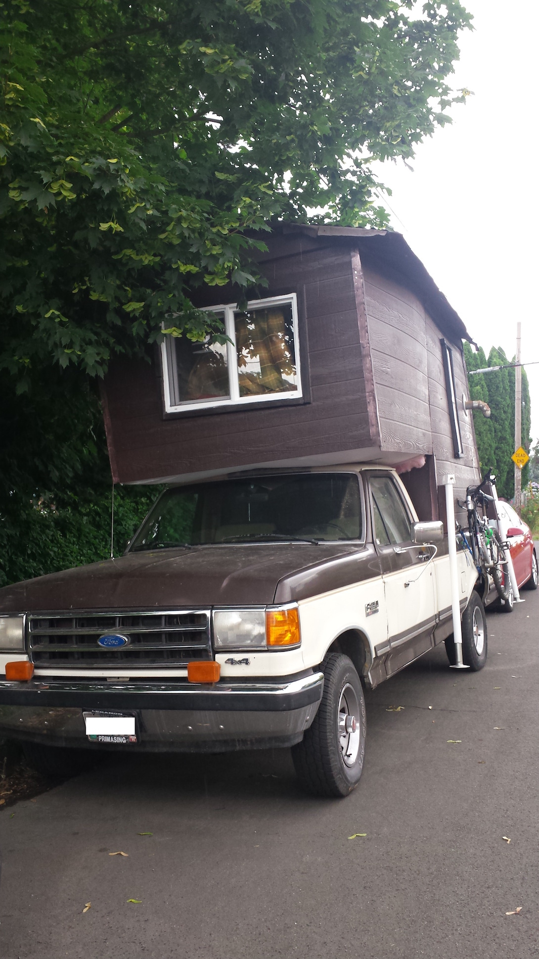 Not stealth mobile cabin