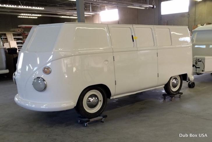 Fiberglass VW van