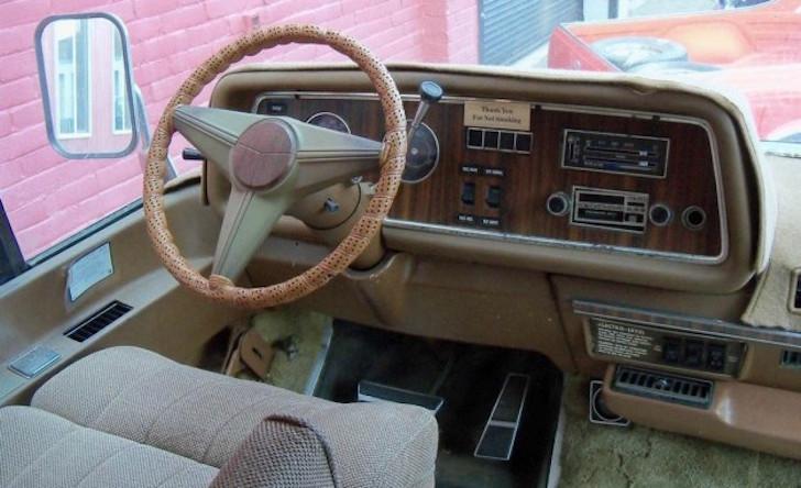 GMC camper driver seat