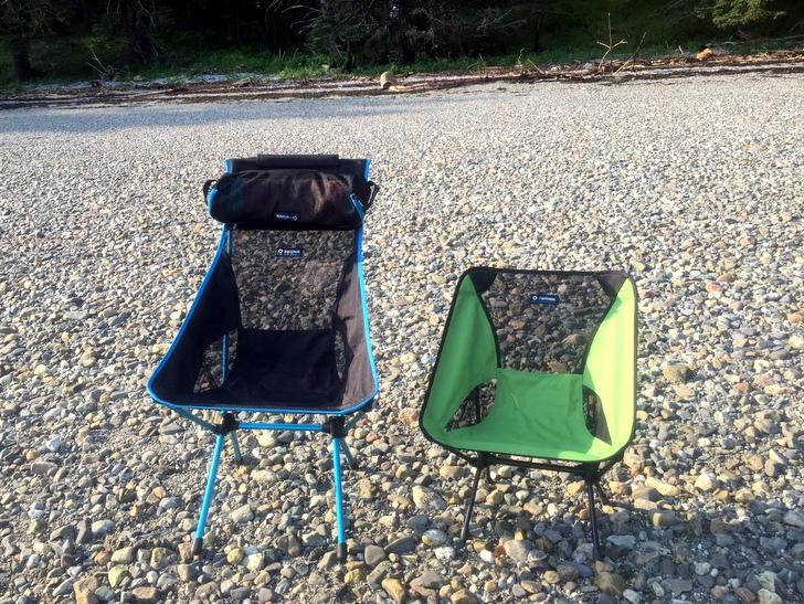 Helinox Camp Chairs