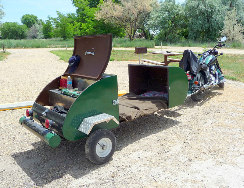 Creative  TRAILER  STORAGE UNIT COMBOCAMPINGHOME STORAGE Motorcycle Bike