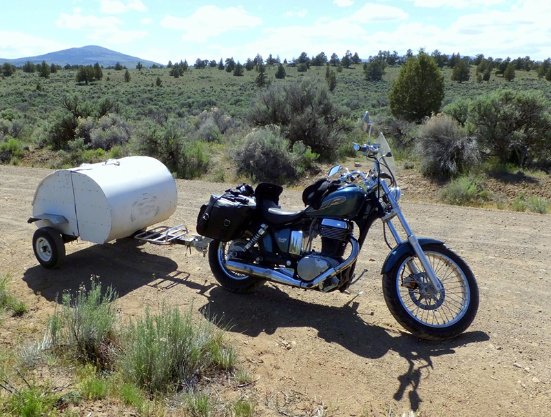 Innovative Army Veteran Builds Expandable Motorcycle Camper For Solo Trips With Minimal Gear Tim Mazac Is A Retired Army Veteran Who Loves To Ride His Motorcycle Through The American Southwest After Too Many Nights In Old Hotels, He Had