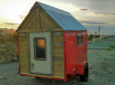 Man Turns Cheap Trailer Into 40-Square-Foot Micro Camper For Only $800