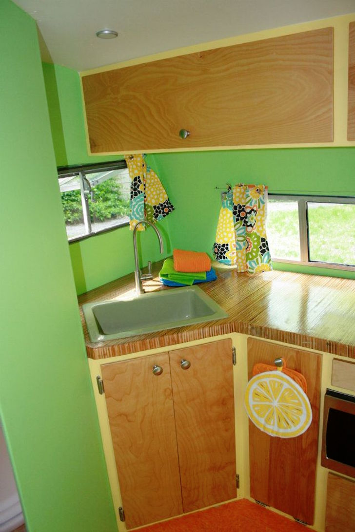 Original camper sink