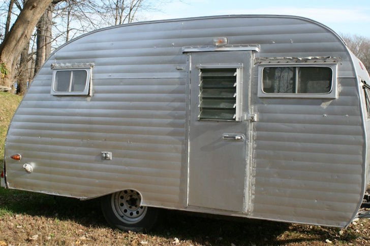 Couple Rebuilds Serro Scotty Sportsman Camper Trailer