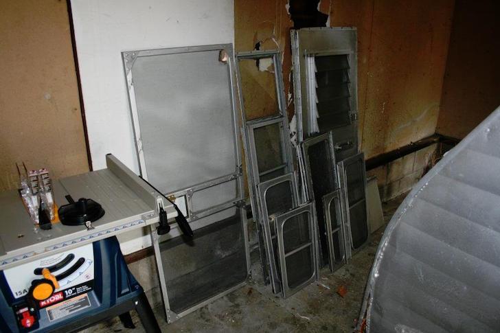Trailer windows and doors