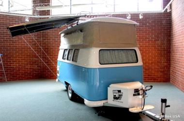 blue van front