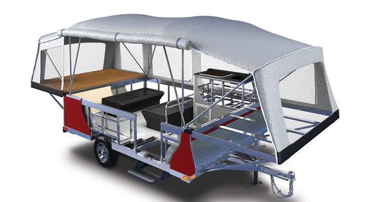Lightweight Aluminum Camper Built For The Long Haul