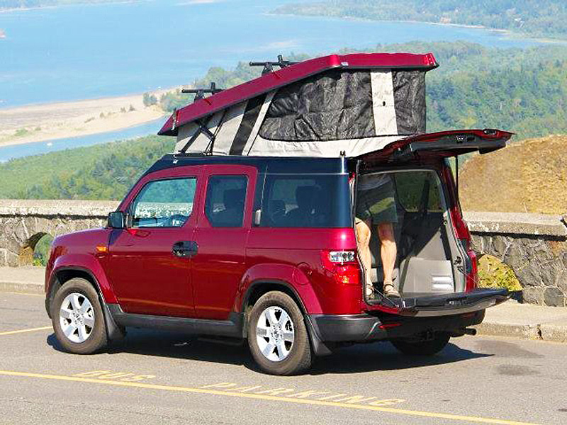 Honda Element Ecamper >> Pop Up Campers For Honda Elements And Jeep Wrangler Unlimited