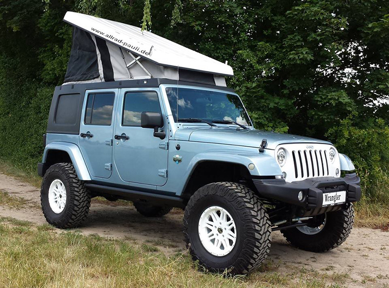 Pop Up Campers For Honda Elements And Jeep Wrangler Unlimited