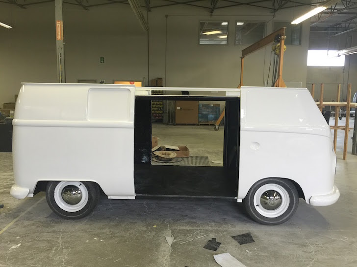 VW fiberglass replica