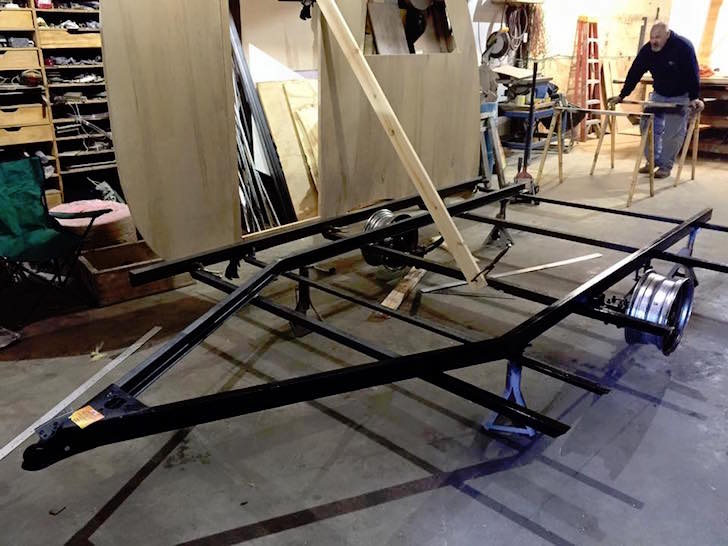 Welded chassis