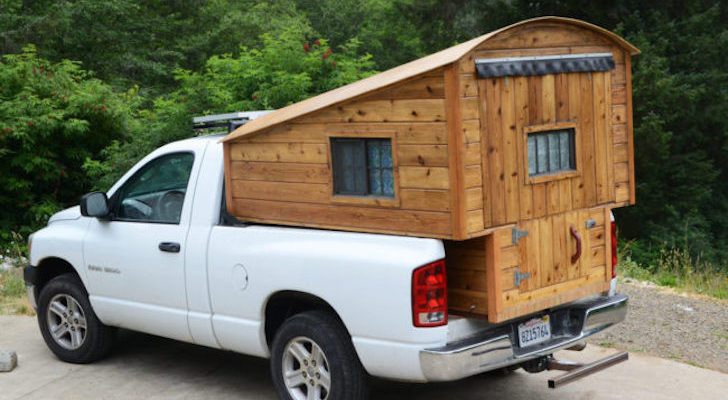 Carpenter Builds Wooden Truck Bed Campers For Tacoma And Ram Pickups