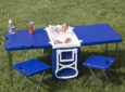Rolling Cooler Tables Keep Drinks Cold