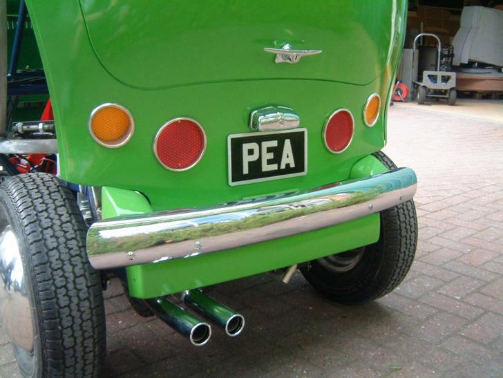 birdseye pea car