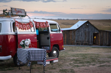 Vintage VW Bus Becomes Traveling Photo Booth