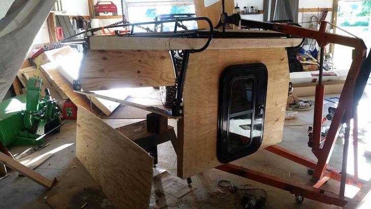 Sides for roof rack