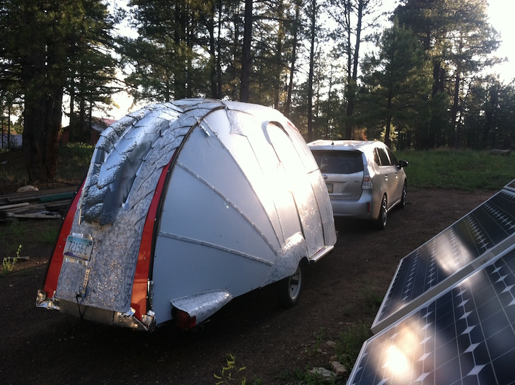 Super light camper exterior