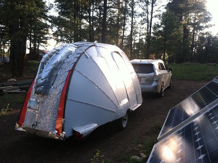Super light camper exterior