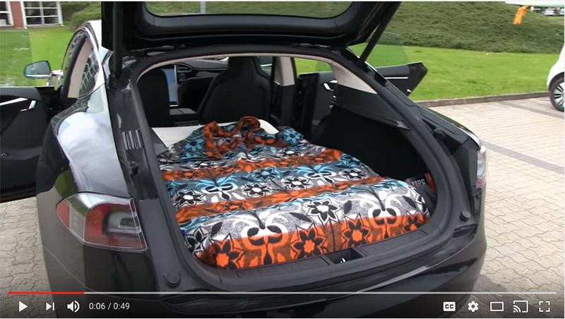 Tesla-camping-bed