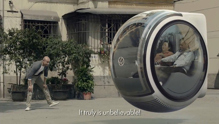 Volkswagen Hover Car Concept From The People S Car Project