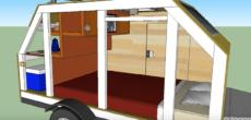 56 S.F. Micro Cabin Based On Ironton Trailer