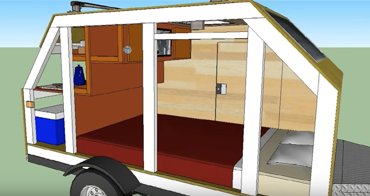 56 S.F. Micro Cabin Based On Ironton Trailer