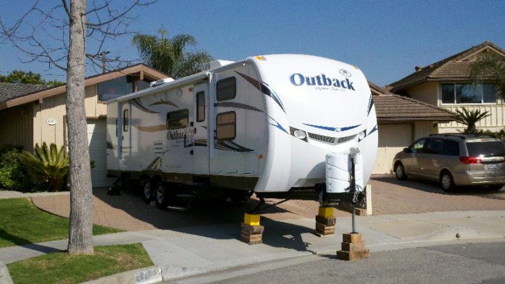 Driveway Camping