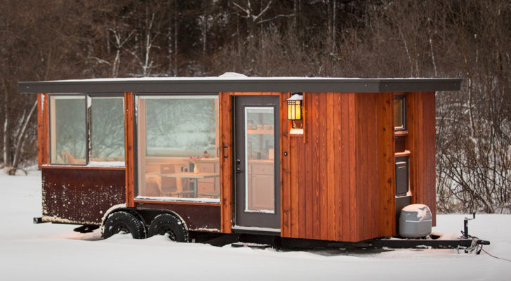 These New ESCAPE Vistas Are Cozy Mini Cabins-On-Wheels