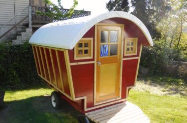 Delicate, High Quality Gypsy Wagon Looks Like Fairy Tale Abode