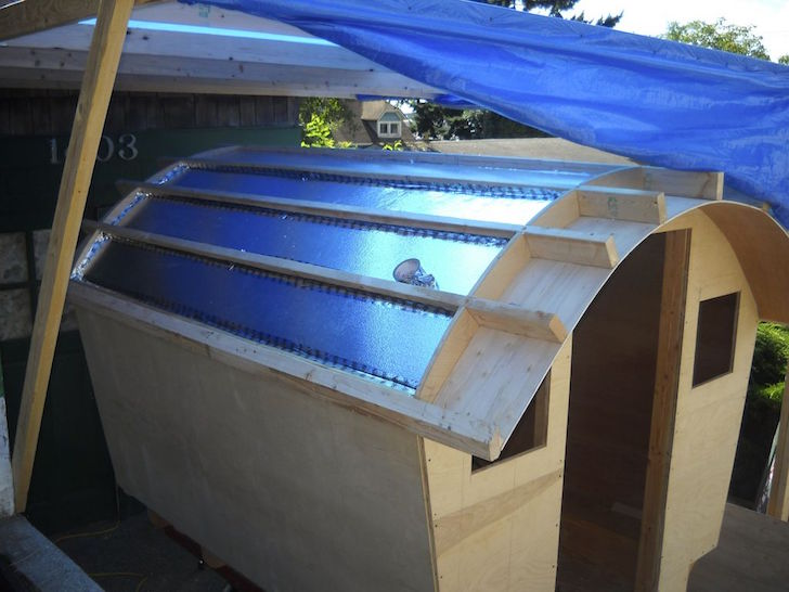 Insulation in roof
