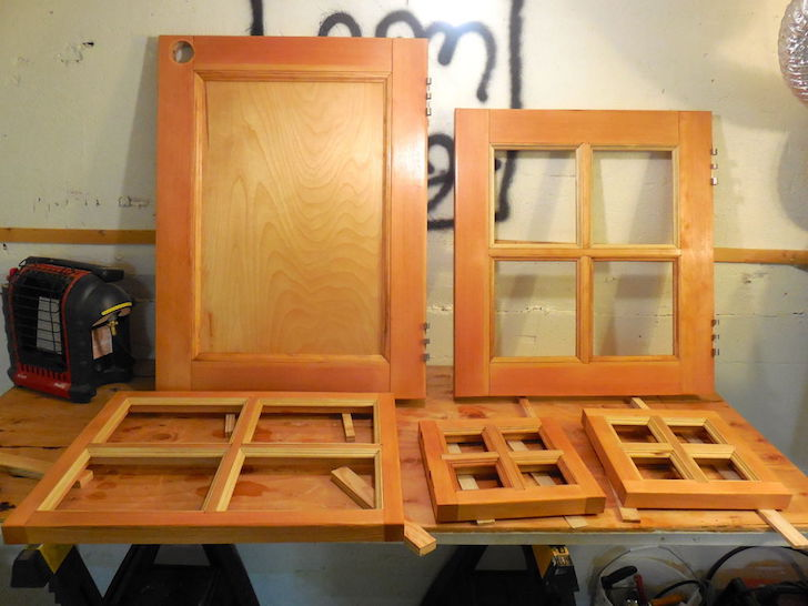 Stained custom windows