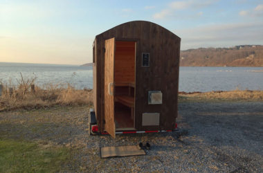 Park This Mobile Sauna By Your Favorite Swimming Hole
