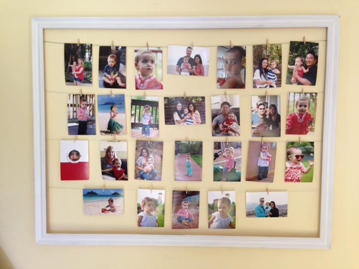 ways to display travel photos