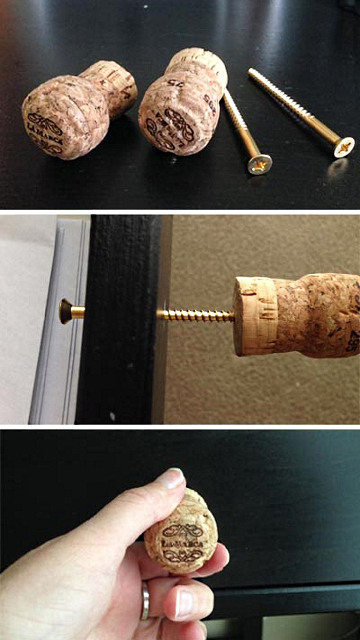 20 diy projects to repurpose old wine corks in your home for Wine cork replacement