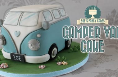 How To Make A Volkswagen Campervan Birthday Cake [Video]